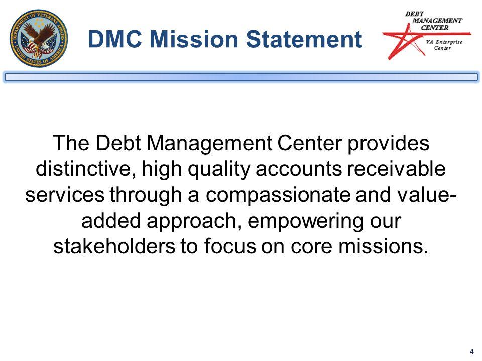 1 Department Of Veterans Affairs Debt Management Center Dmc School