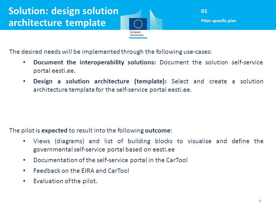 EIRA/CarTool EE pilot Follow-up call ISA Programme Action 2.1 ...