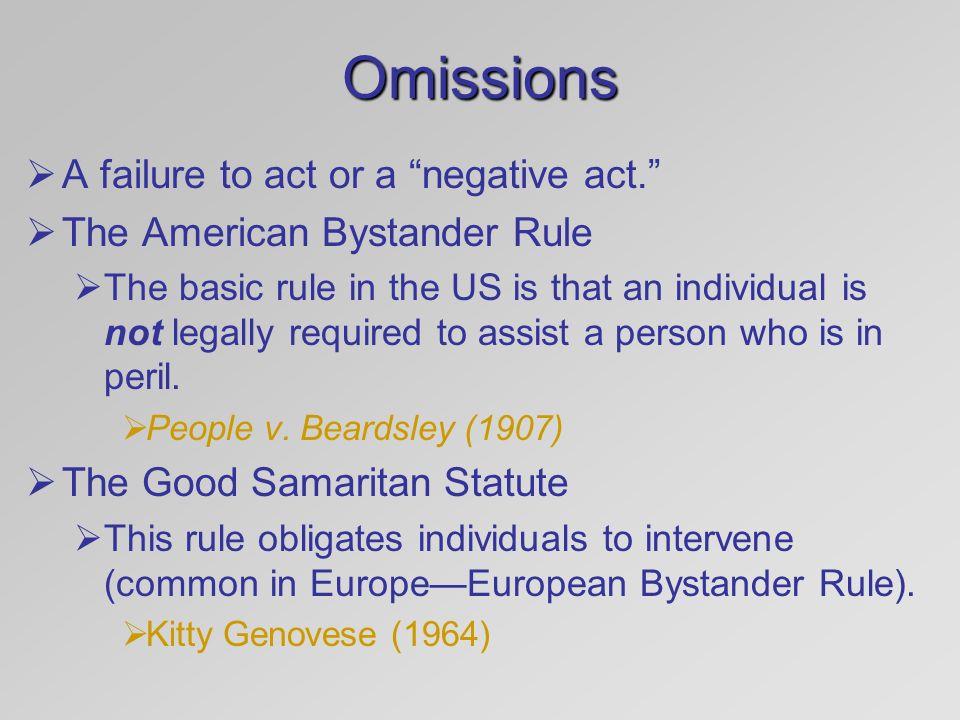 american bystander rule