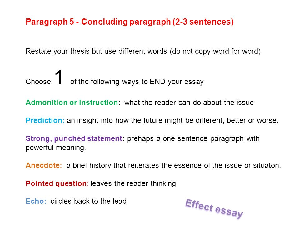 Cause And Effect Essays Children Watch A Lot Of Tv They Dont Study   Paragraph