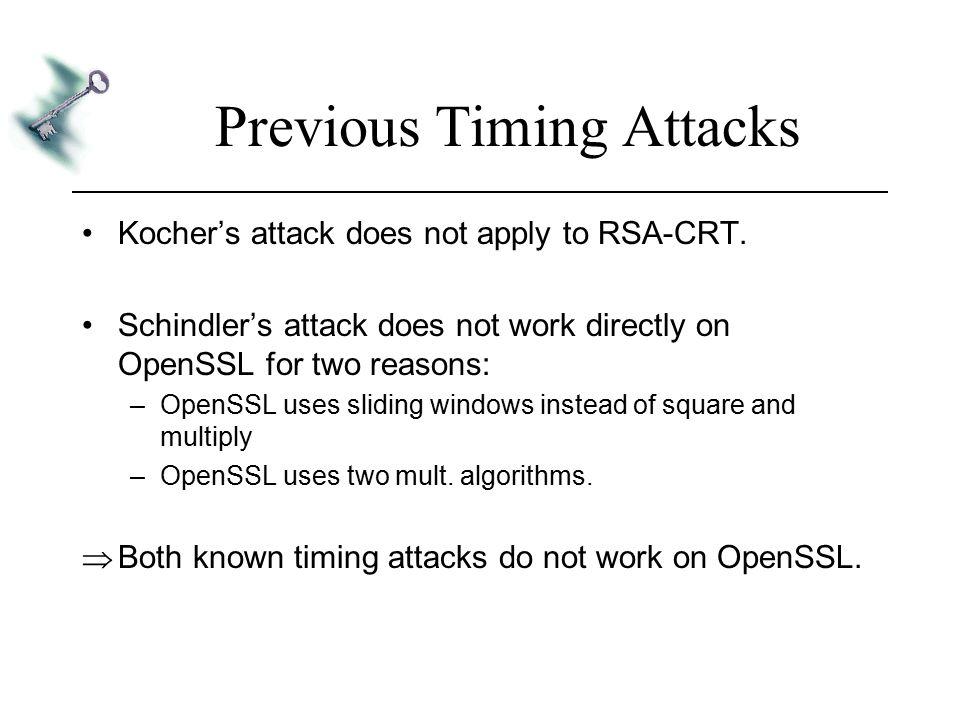 Remote Timing Attacks are Practical David Brumley Dan Boneh