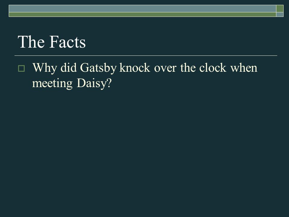 The Great Gatsby Test Review Whos Who This Person Believed In