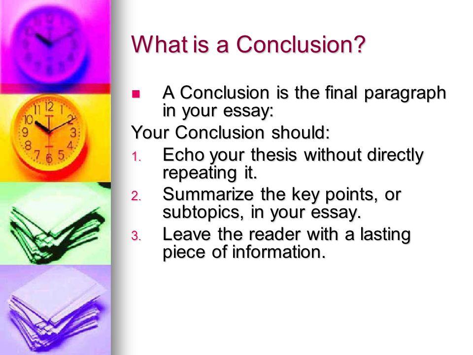 Resultado de imagen para concluding an essay