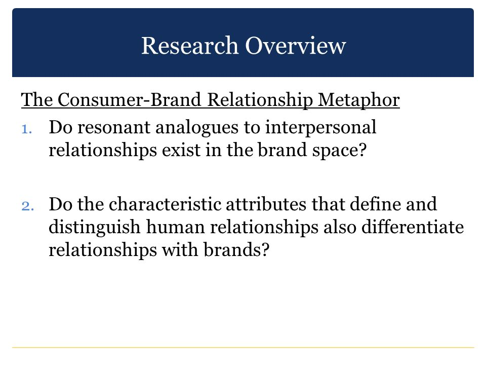 A Comparative Investigation of Popular Brand Relationship