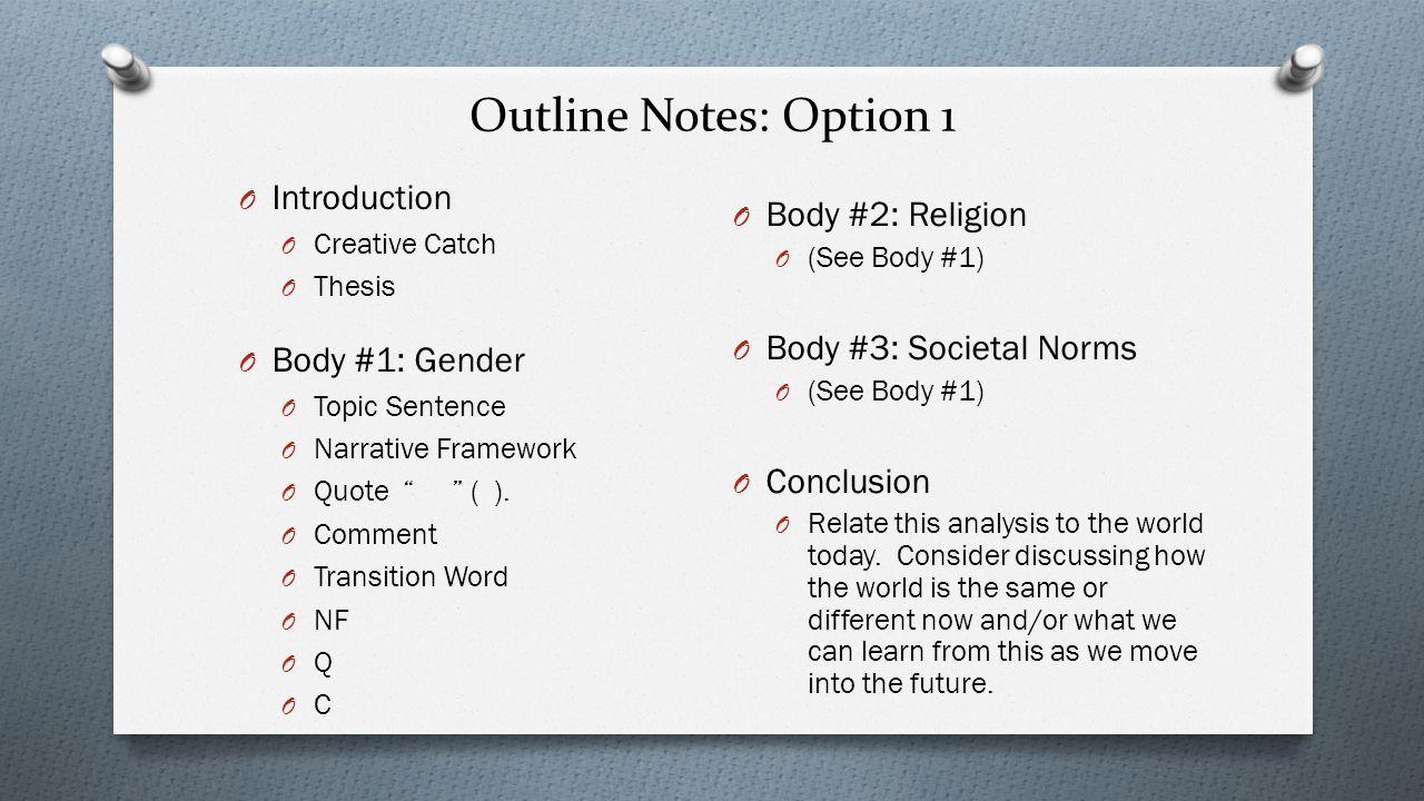 to kill a mockingbird essay outline