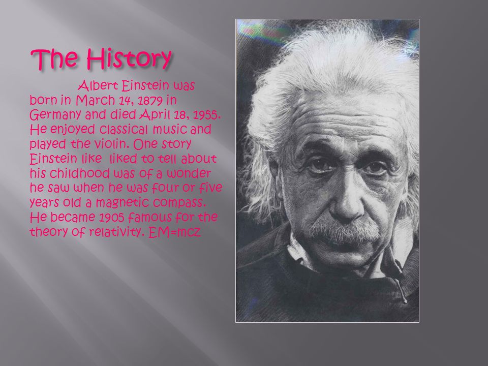 biography of albert dwight paper Albert einstein's biography and life storyalbert einstein (14 march 1879 - 18 april 1955) was a he realized, however, that the principle of relativity could also be extended to gravitational fields, and with his subsequent theory of gravitation in 1916, he published a paper on the general theory of relativity.