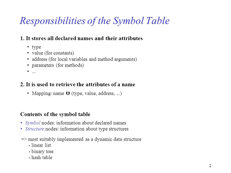 1 5mbol Table 51overview 52symbols 53scopes 54types 55