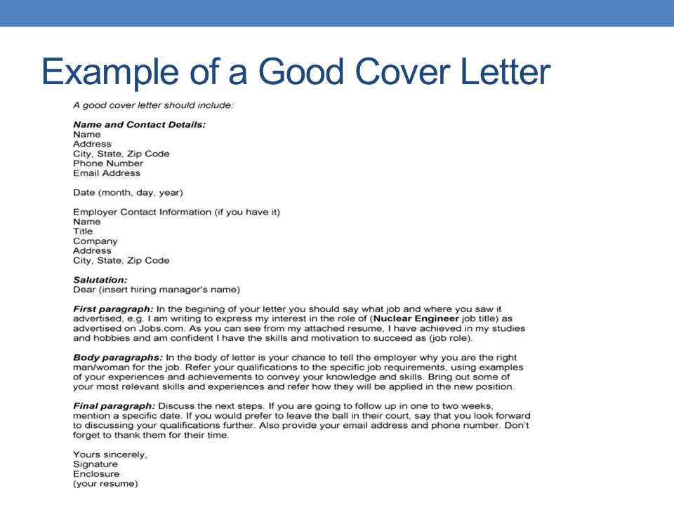 COVER LETTERS FOR CAREERS IN AGRI-BUSINESS. Cover letters and the 4 ...