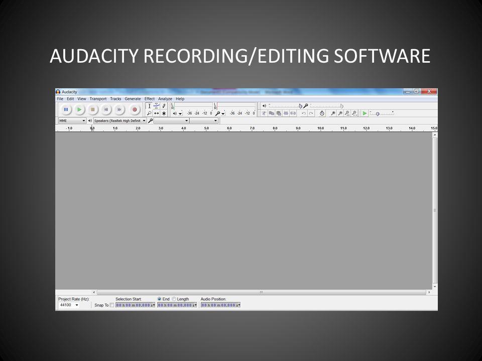 audacity audacity recording editing software transport controls