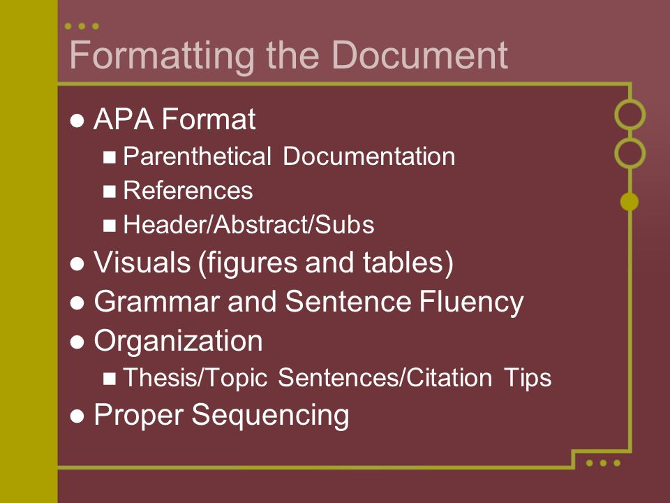 thesis for apa papers Writing your thesis in apa style author: michaela willi hooper created date: 9/17/2012 4:20:58 pm.