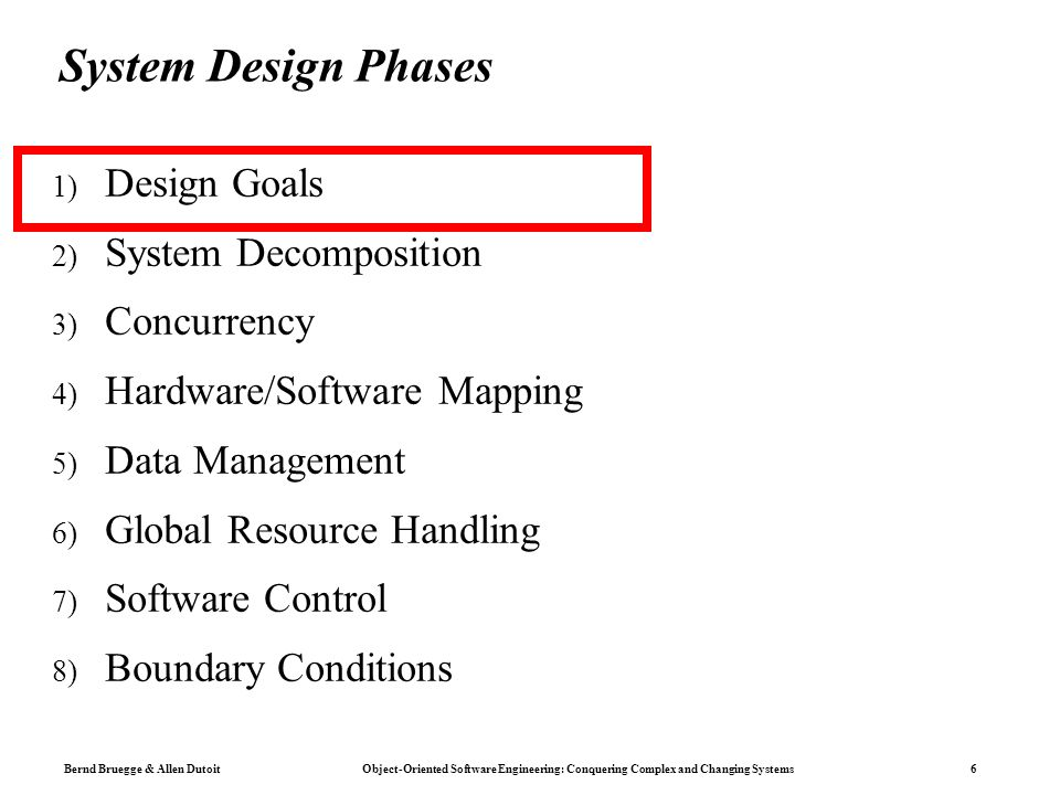 Conquering Complex And Changing Systems Object Oriented Software Engineering Chapter 6 System Design Lecture Ppt Download