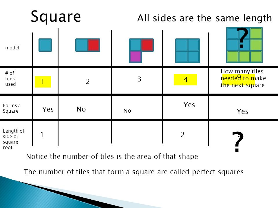 Square 12 3 No 4 How Many Tiles Needed