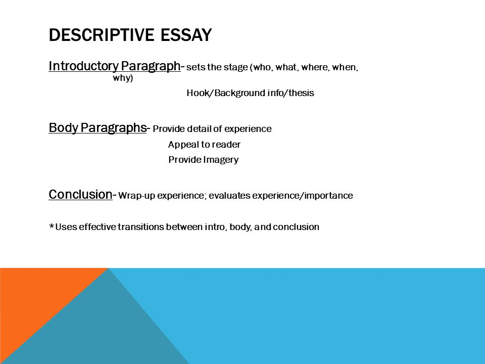 Pay For Performance Literature Review  Descriptive  Thesis In A Essay also Research Proposal Essay Four Types Of Writing Expository Essays Descriptive Essays  Sample Business Essay