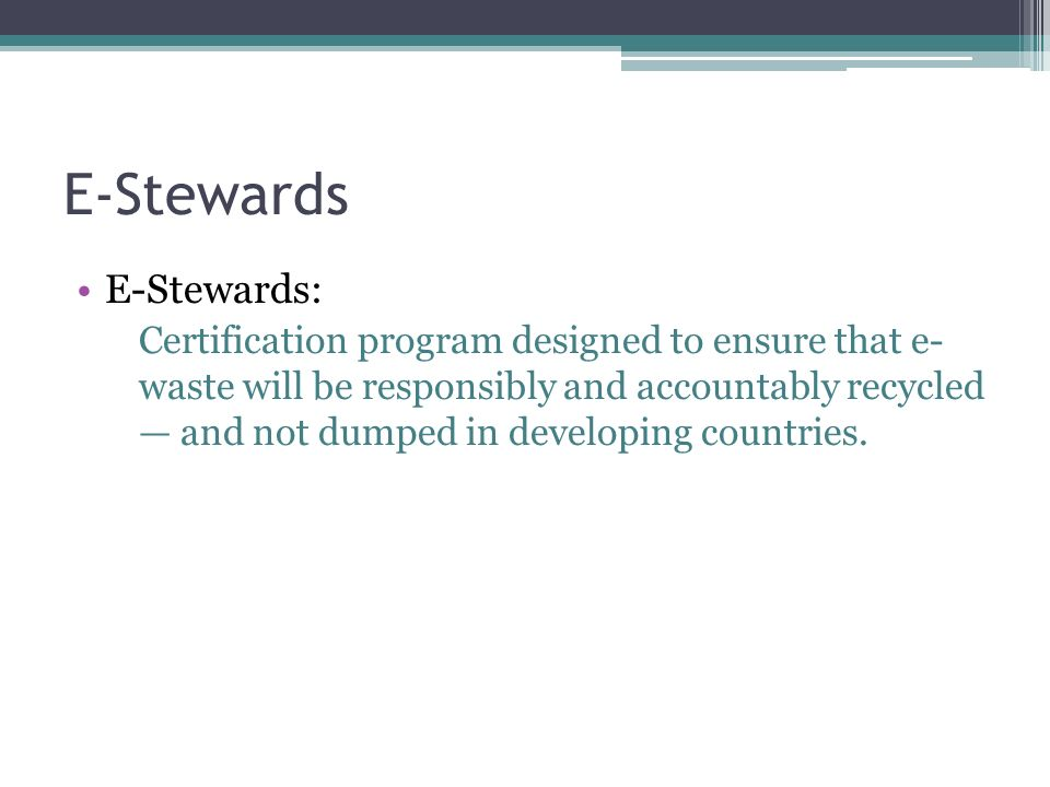 E Waste Review E Waste Waste Made Up Of Obsolete Broken Or