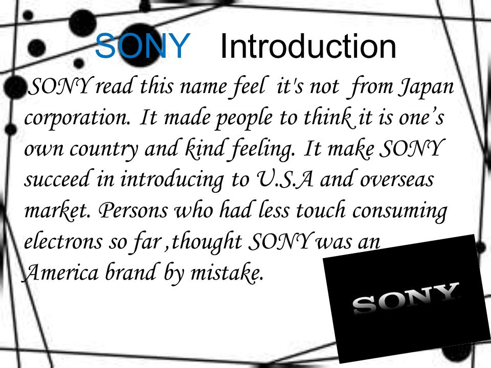 brief history of sony corporation