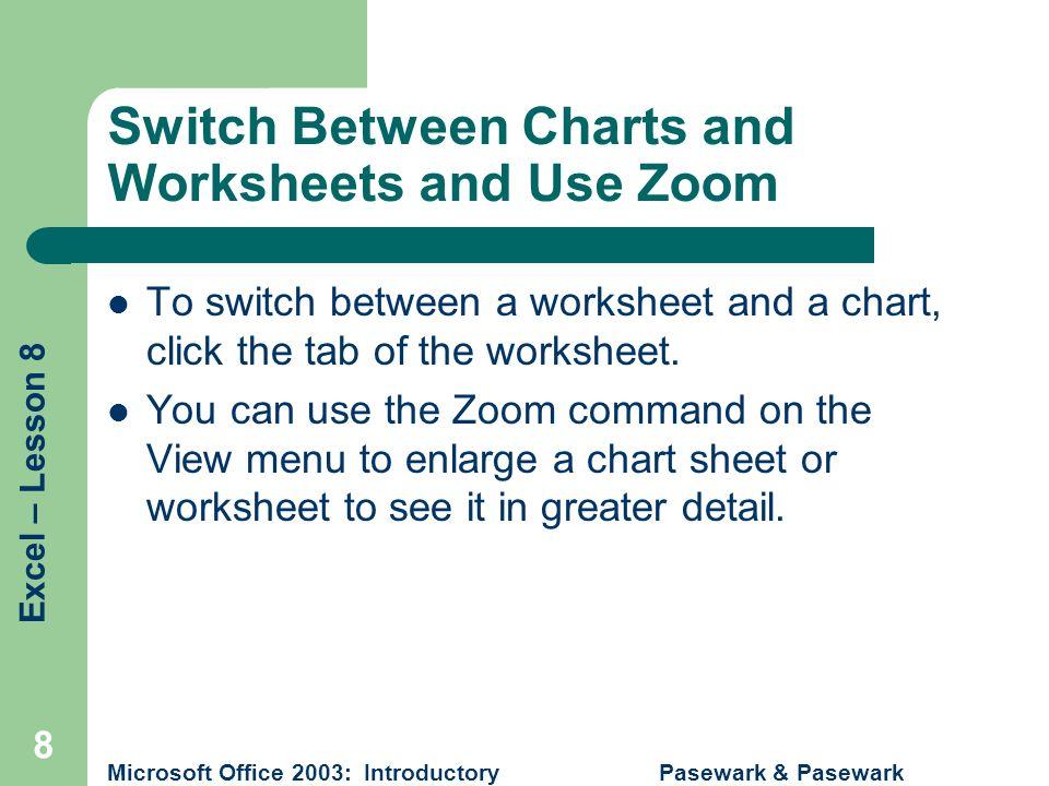 Pasewark & Pasewark Microsoft Office 2003: Introductory 1 ...
