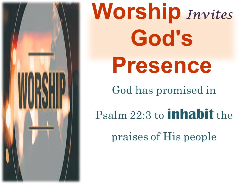 Image result for god inhabits the praise of his people