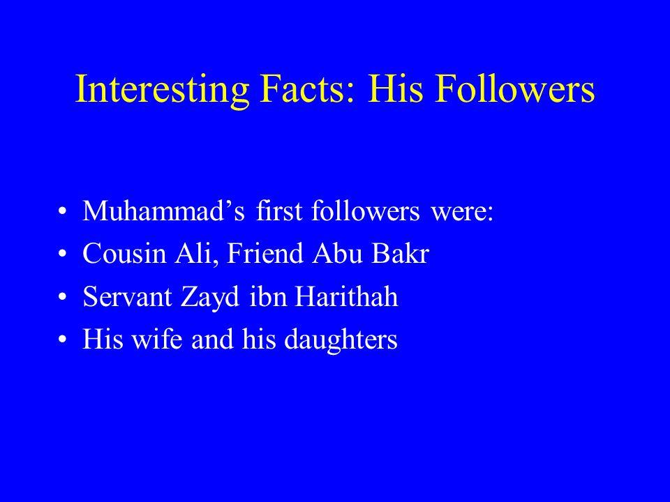 The Prophet Muhammad By: Jessica Kuglitsch  Muhammad's