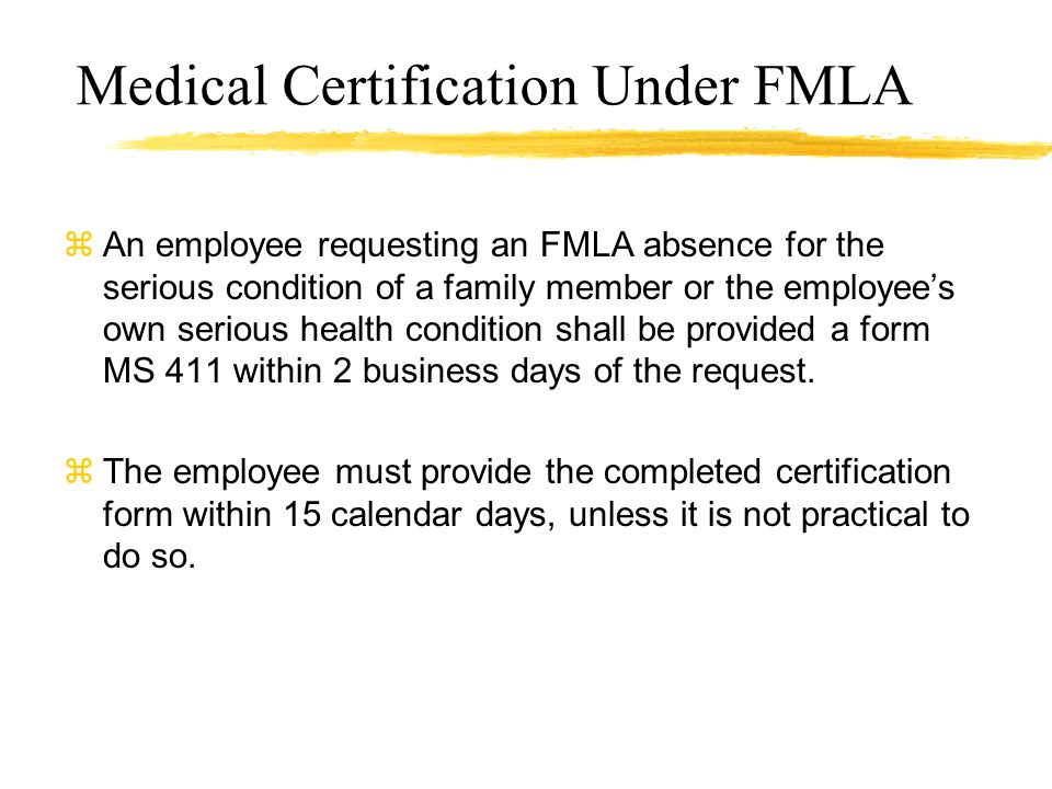 Family And Medical Leave Act Fmla A Guide For Personnel Officers