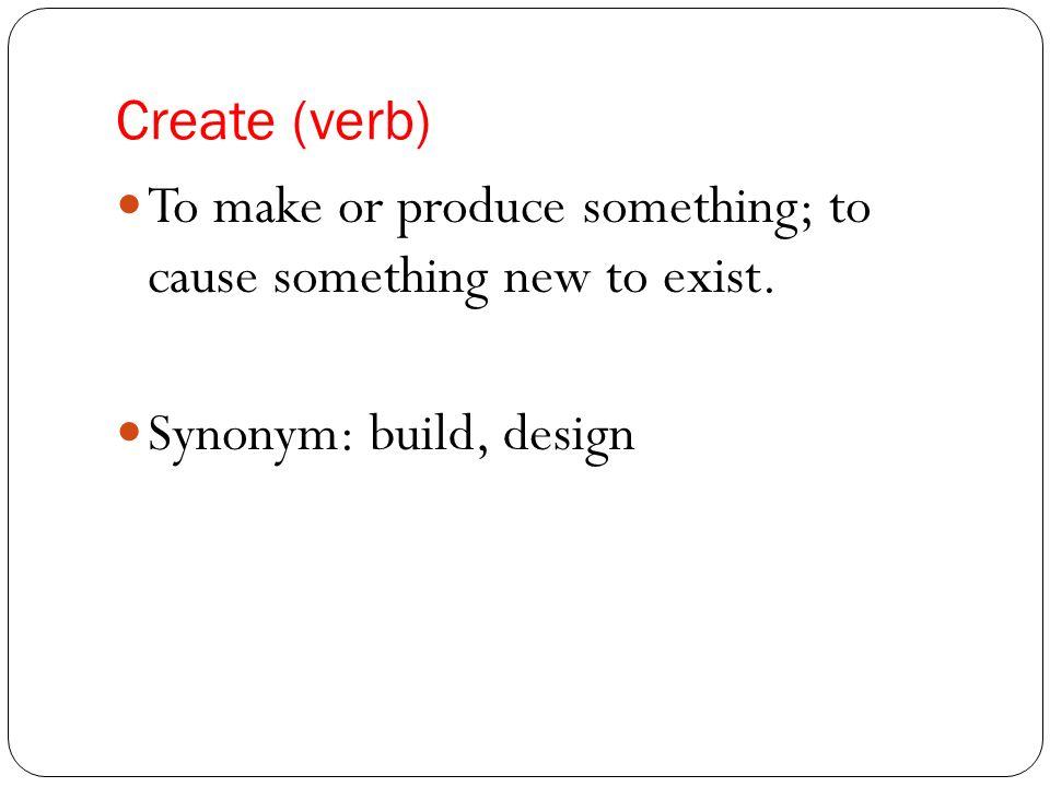Synonym Build Design