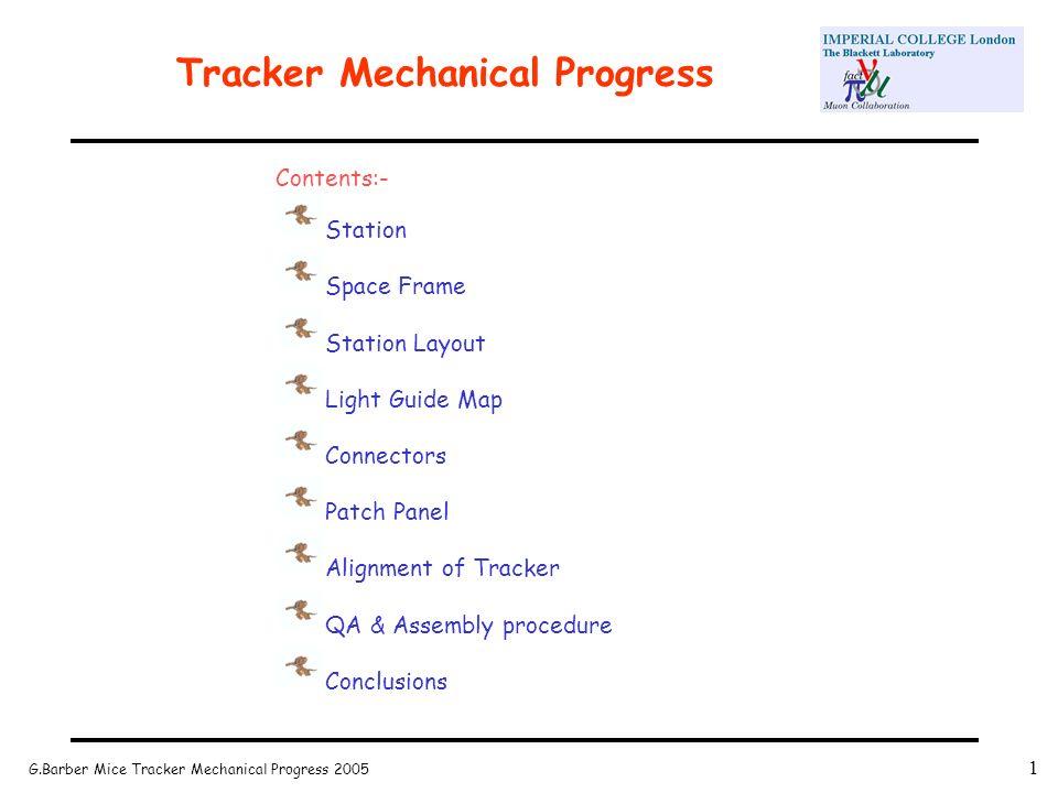 G.Barber Mice Tracker Mechanical Progress Tracker Mechanical ...