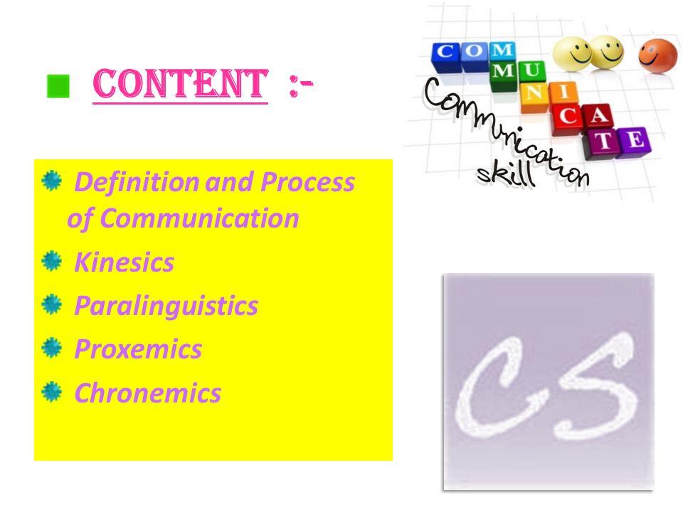 chronemics communication definition