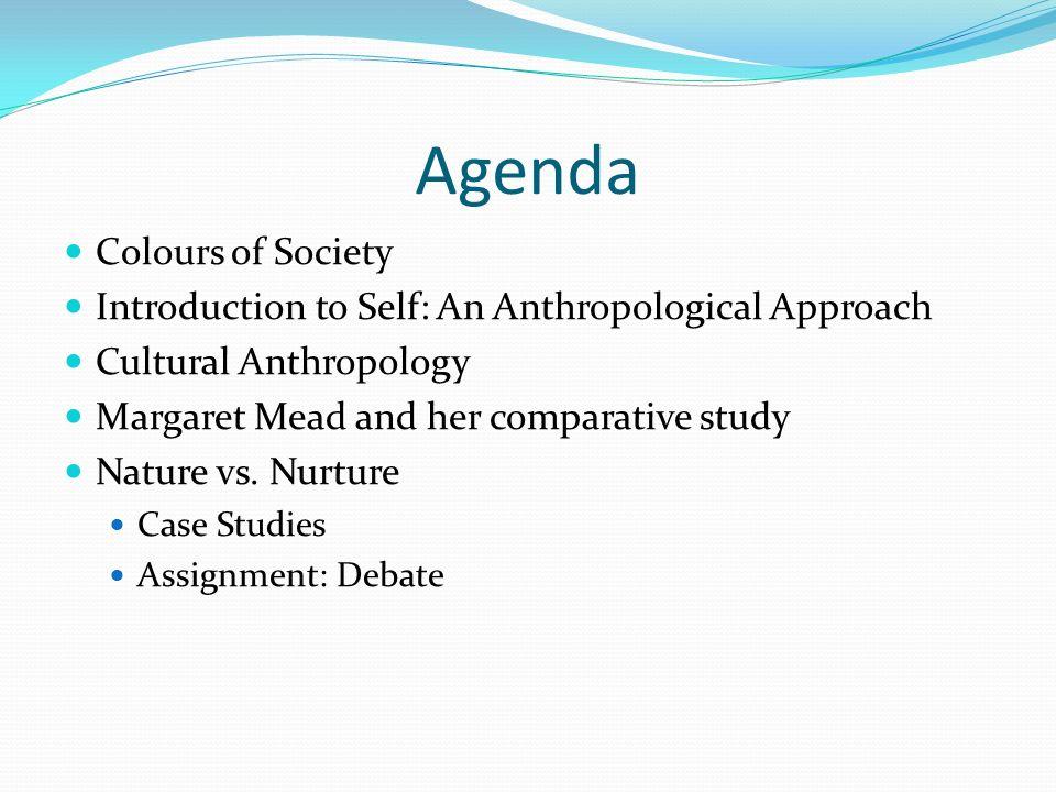 nature vs nurture anthropology