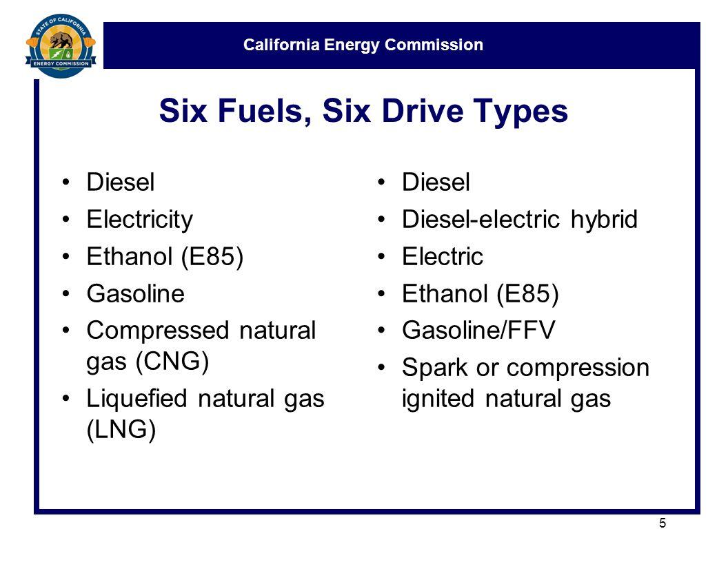 California Energy Commission Medium and Heavy Duty Truck