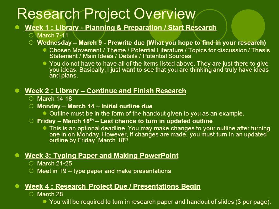 literature project topics