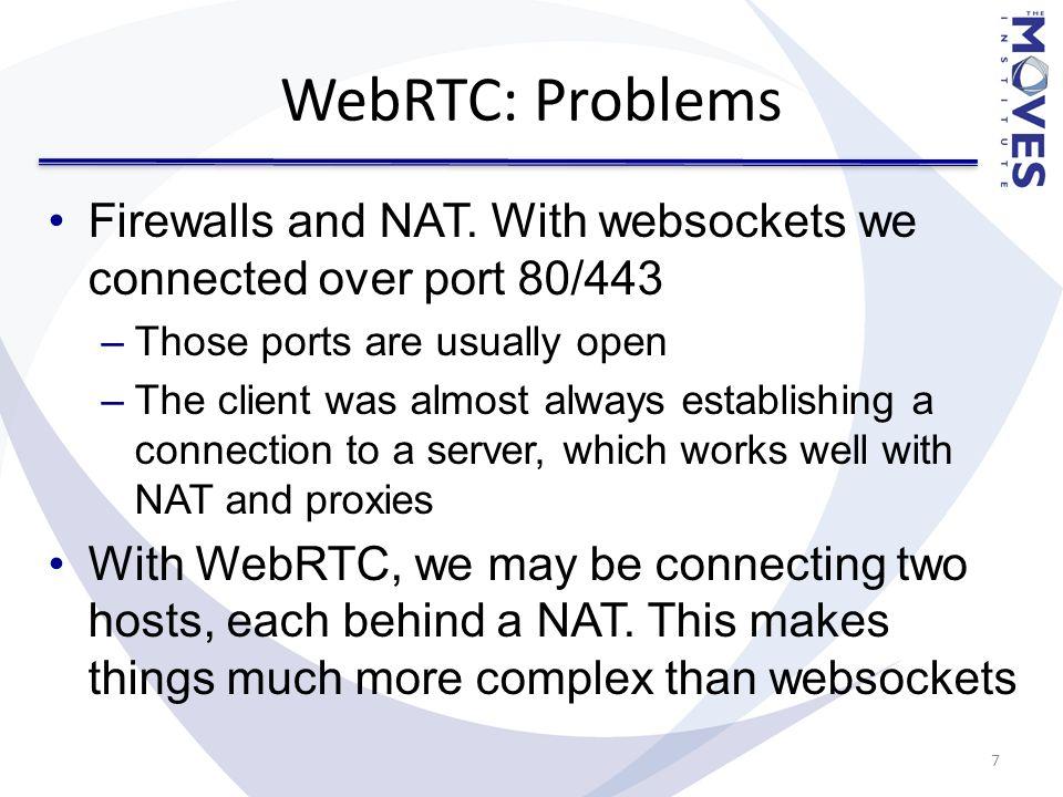 WebRTC Don McGregor Research Associate MOVES Institute - ppt