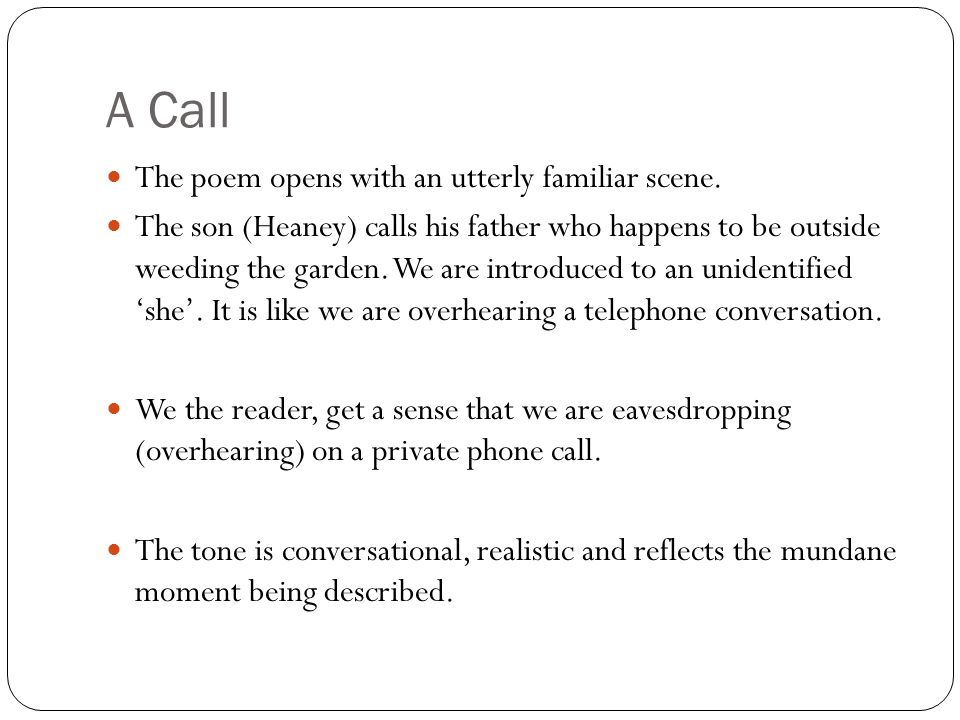telephone conversation poem analysis