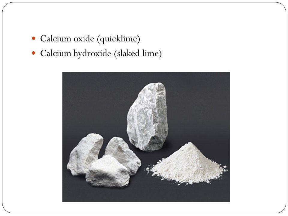 Tuba Naz Bozkurt 213 9 A Lime Calcium Oxide Quicklime