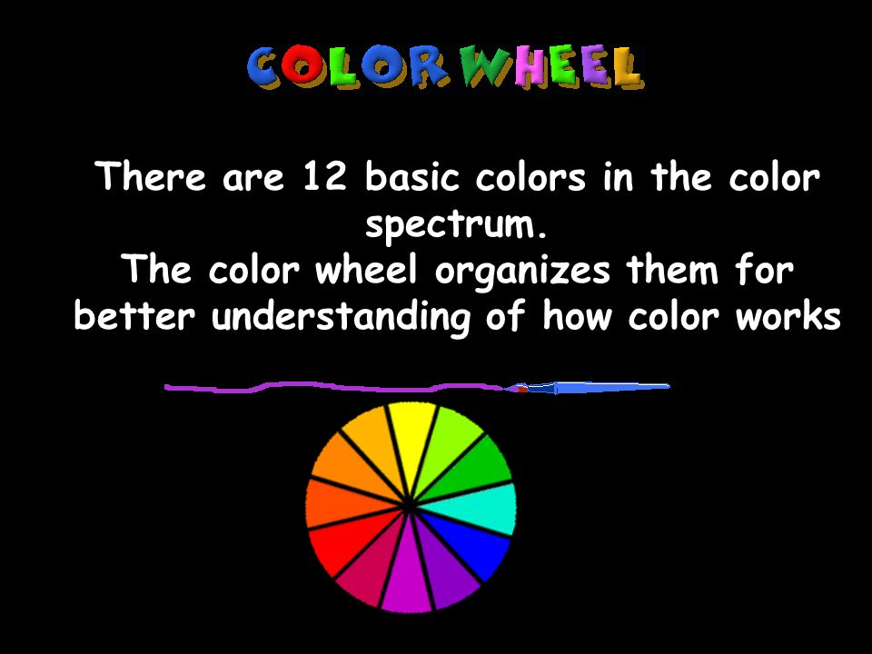 Mrs Lambert Art Notes There Are 12 Basic Colors In The Color