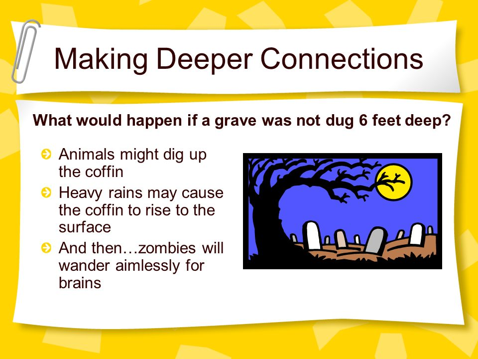 """""""deep"""" Grade Deep Passage Main Connections - Character Girl Front A Is Download To In Relate Of Making Fictional """"i"""" Digging Seventh- Literature The You Ppt"""