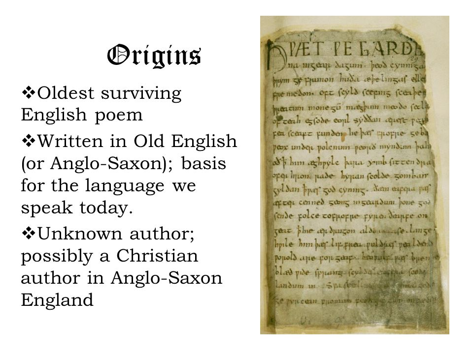 old english poetry This list of poetry about old english is made of poetrysoup member poems read short, long, best, famous, and modern examples of old english poetry this list of works about old english is a great resource for examples of old english poems and show how to write poems about old english.