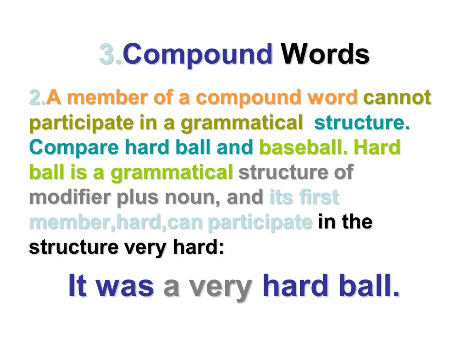 """Word It is not easy to define """"word"""". A. Definition of """"word"""" A word ..."""