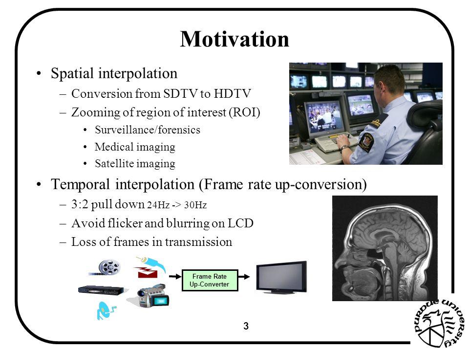 1 Video Frames Interpolation Using Adaptive Warping Ying Chen Lou ...
