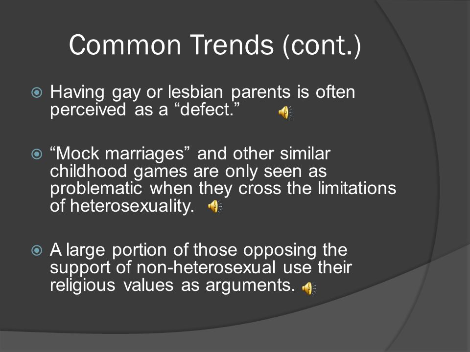 Sexuality biologically determined