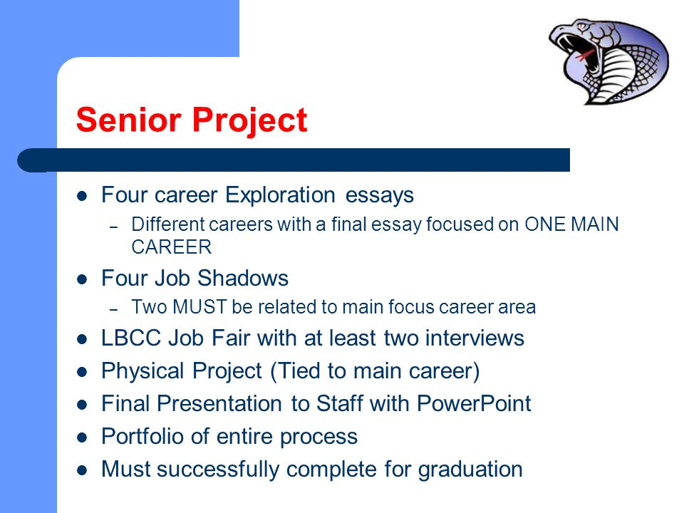 Central Linn High School New Oregon Graduation Requirement