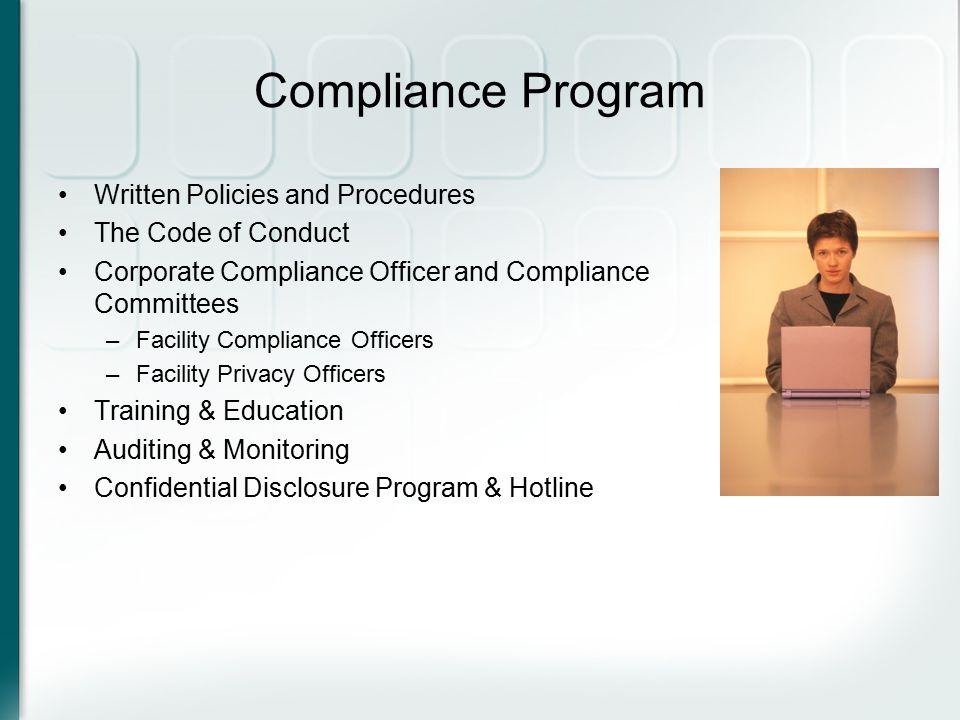 2 Compliance ...