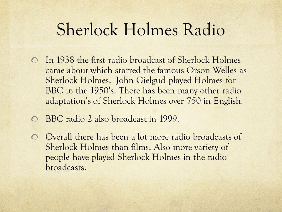 Adaptations of Sherlock Holmes  Sherlock Holmes Movies 1900