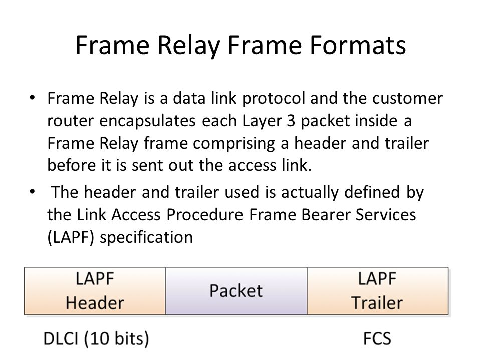 Frame Relay. Why do we need Frame Relay? Frame Relay is more complex ...