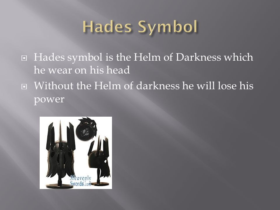 By Terell Bruce Hades Is The God Of The Underworld Hades