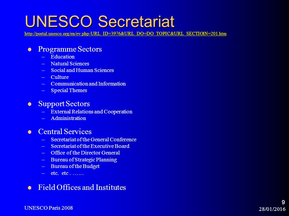 28/01/2016 UNESCO Paris Copyright, Innovation and UNESCO