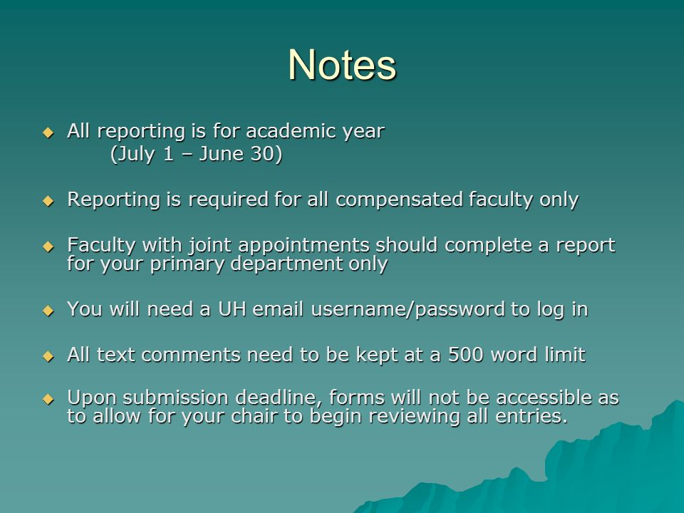 Jabsom Annual Chair Reporting Instructions For Reporting Session