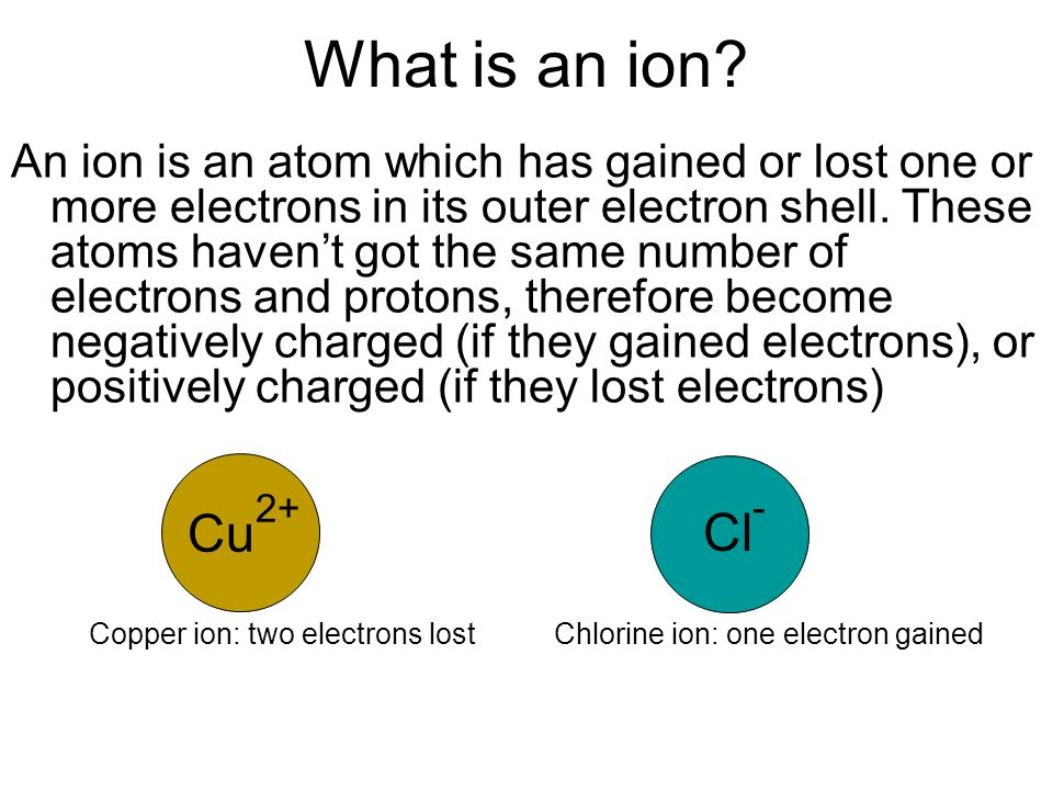Moving positive charges Ions moving in an electrolyte