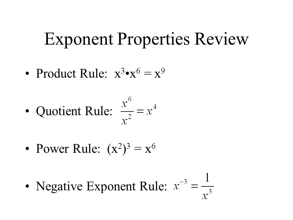 Simplifying With Rational Exponents Section 612 Ppt Download. 3 Rational Exponents Property For Any Real Number B And Integers M N With > 1 Then. Worksheet. Exponent Worksheet Quotient Rule At Clickcart.co