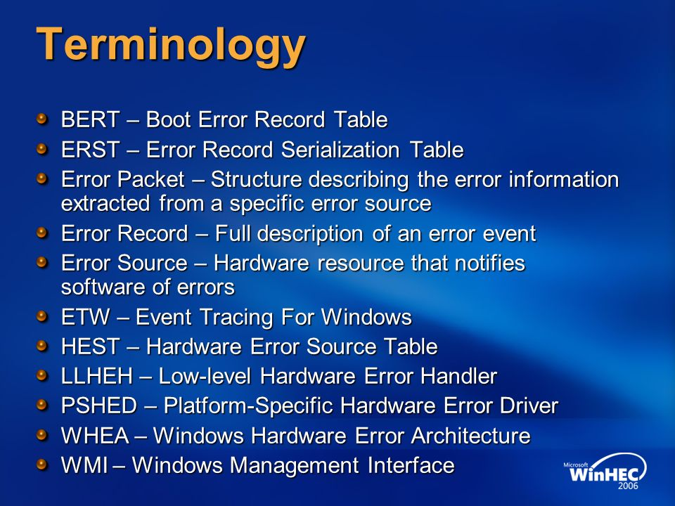 microsoft-windows-kernel-eventtracing error