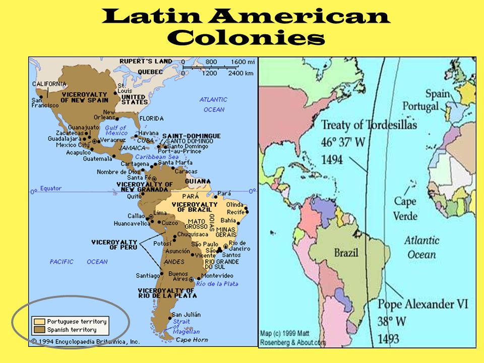 Colonial South America Map.Introduction To Latin America Colonial And Modern Era Ppt Download