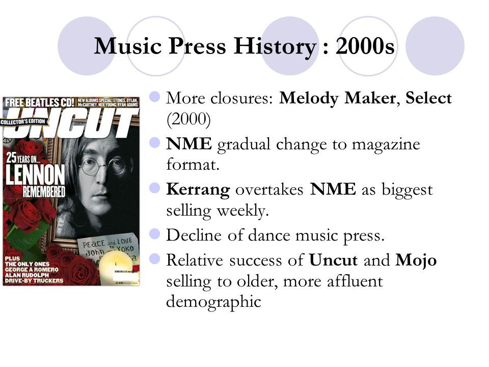 Music Journalism Print Journalism 14th February ppt download